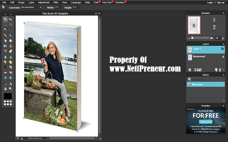 How To Create a Free 3D Ebook Cover Image Without Photoshop.