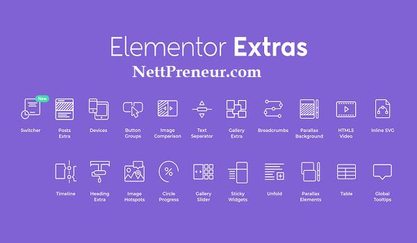 Download Elementor Extras Premium WordPress Plugin