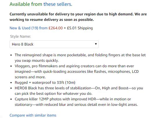 amazon product description html