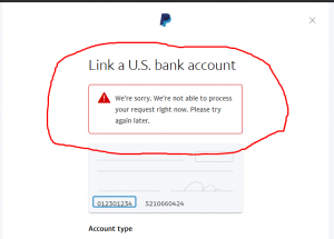 paypal limited account fix