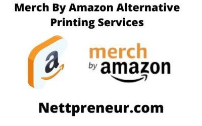 Amazon Merch Alternative Printing Services